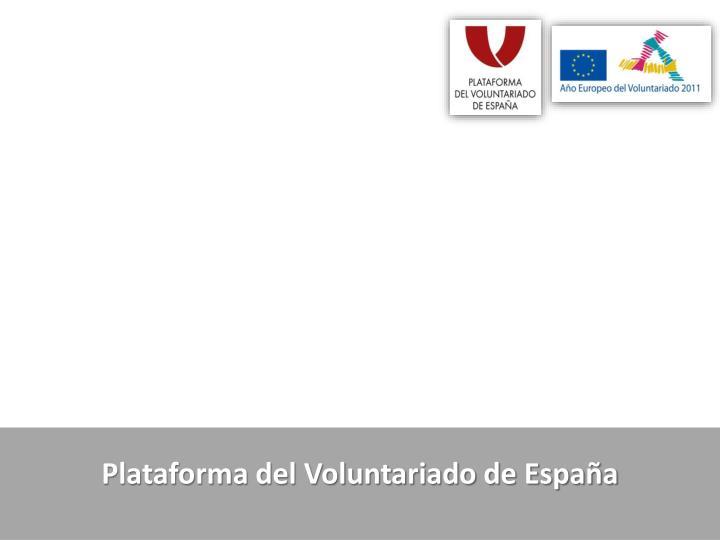 Plataforma del Voluntariado de España