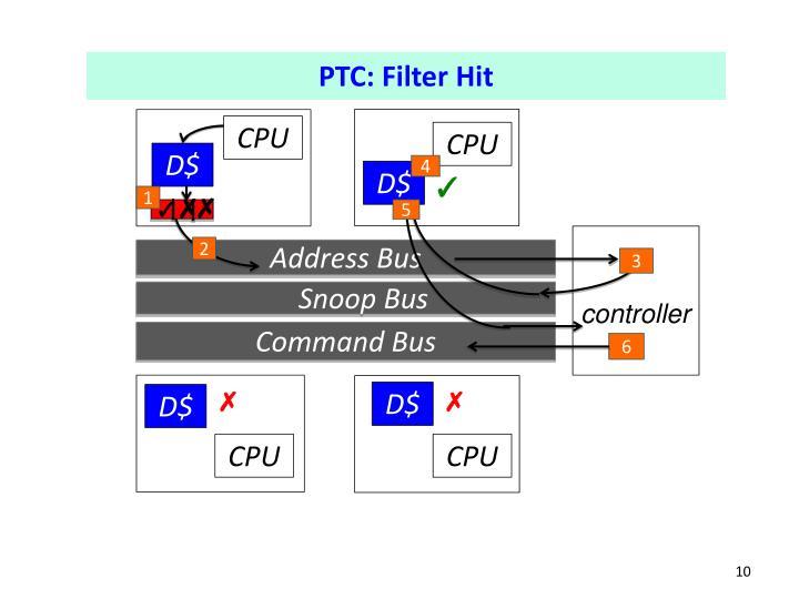PTC: Filter Hit