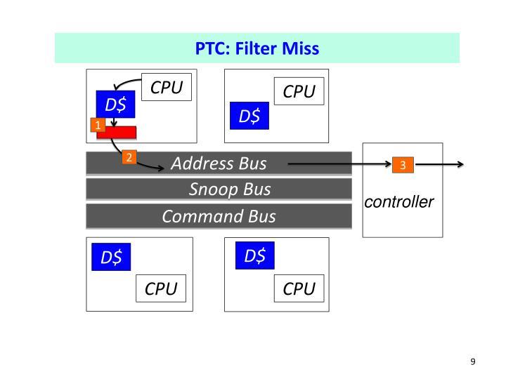 PTC: Filter Miss