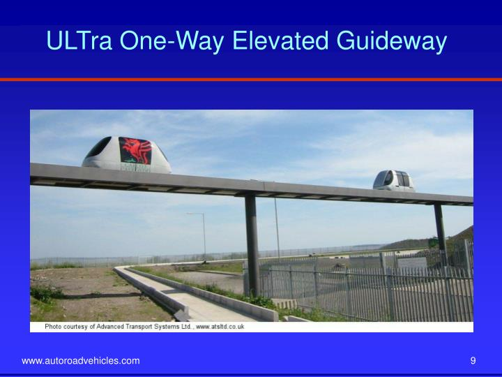 ULTra One-Way Elevated Guideway