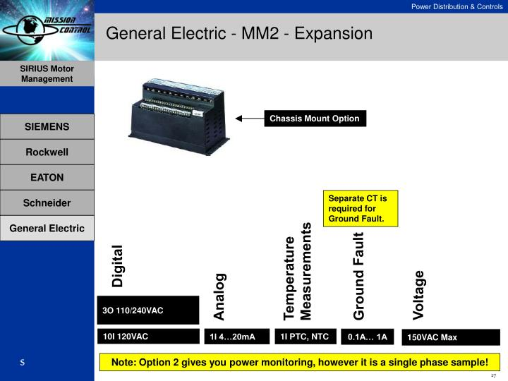 General Electric - MM2 - Expansion