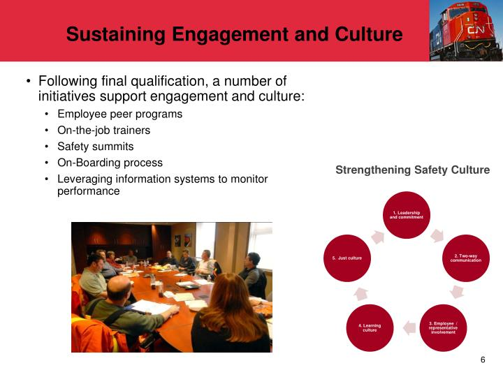 Sustaining Engagement and Culture
