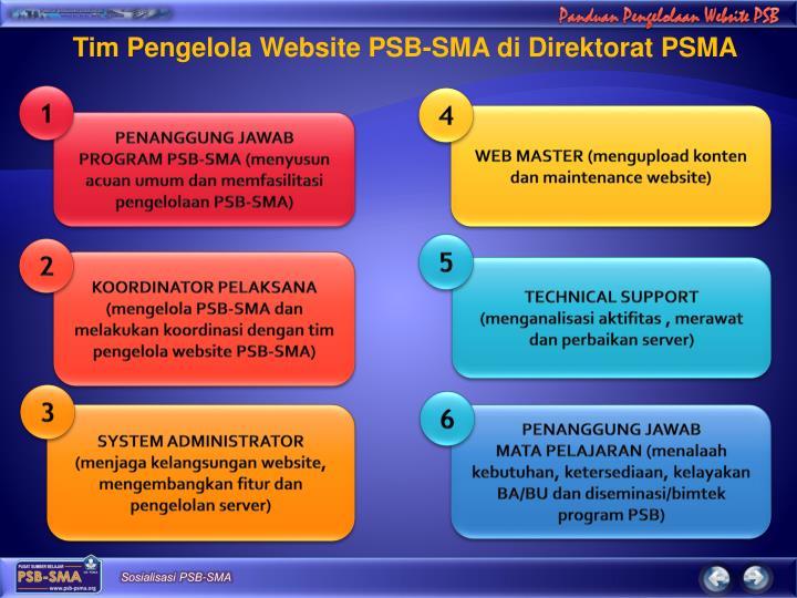 Tim Pengelola Website PSB-SMA