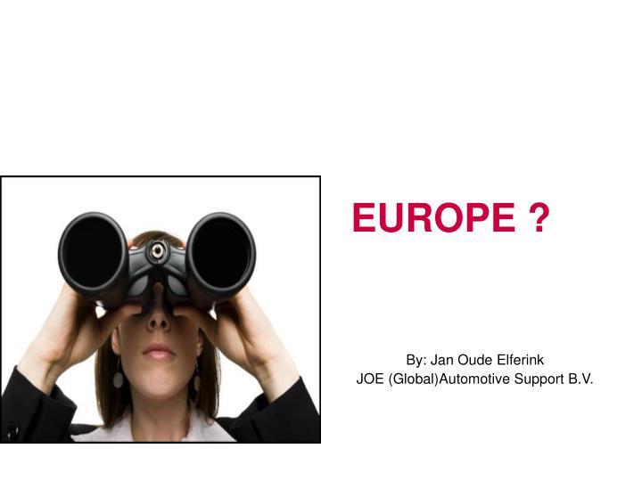 EUROPE ?