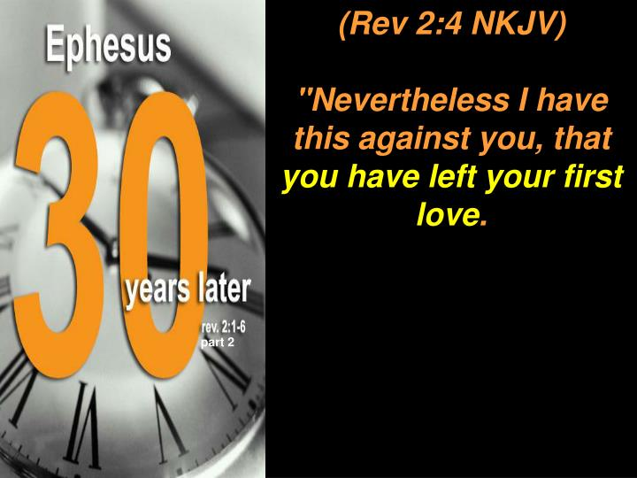 """Nevertheless I have this against you, that"