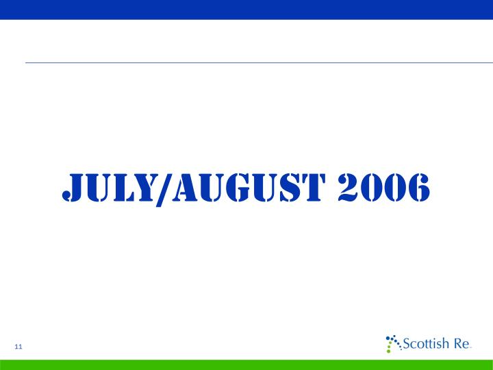 July/August 2006
