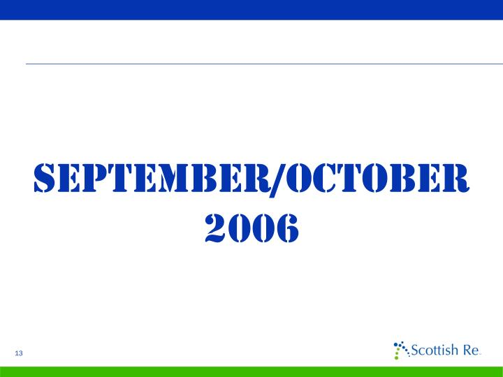 September/october 2006