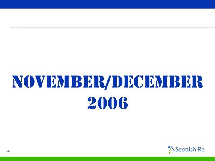 November/december 2006