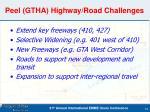 peel gtha highway road challenges