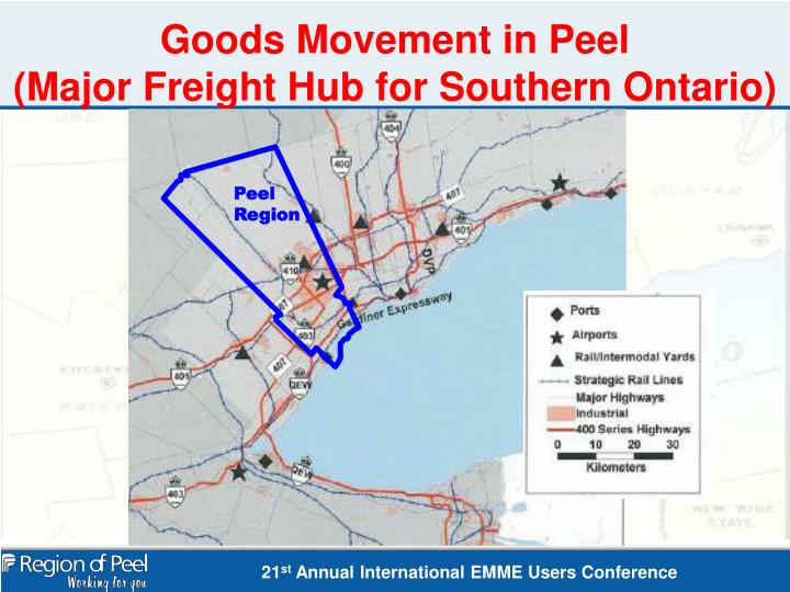 Goods Movement in Peel