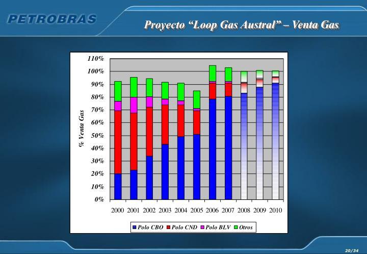 """Proyecto """"Loop Gas Austral"""" – Venta Gas"""