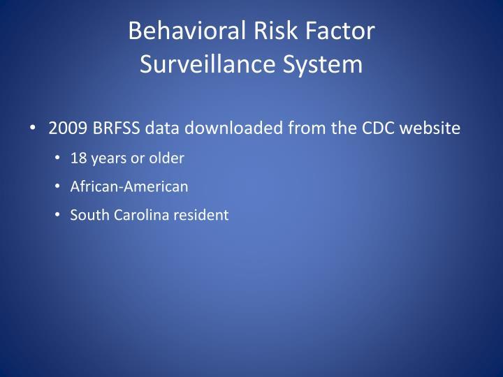 Behavioral Risk Factor
