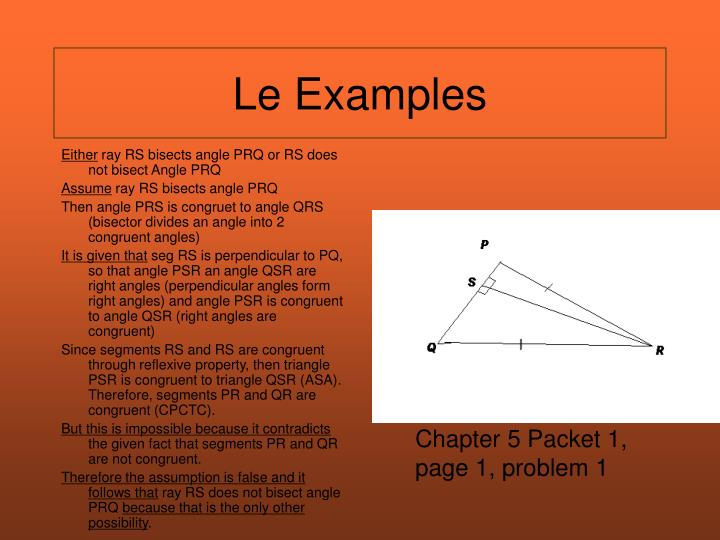 Le Examples