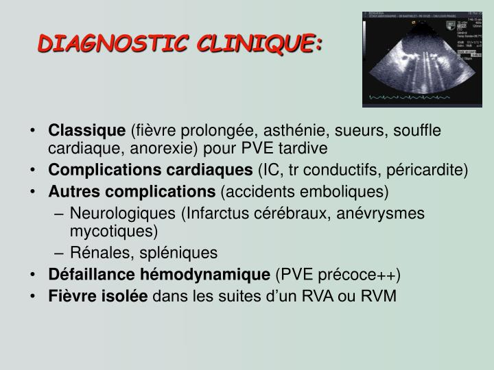 DIAGNOSTIC CLINIQUE: