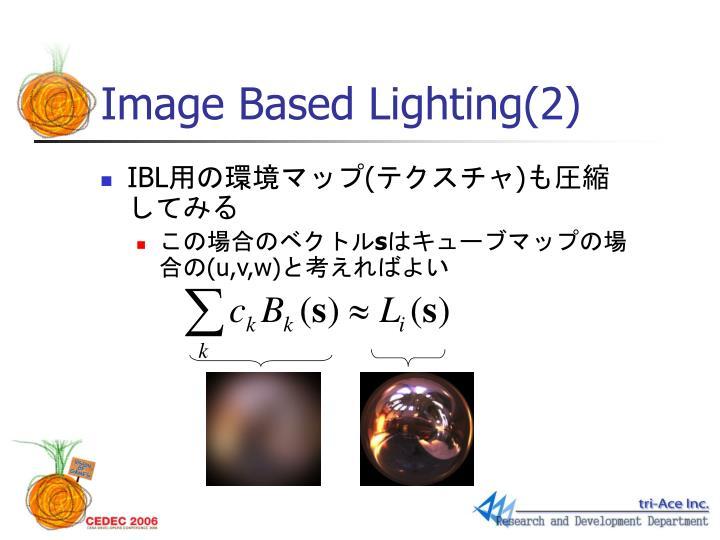 Image Based Lighting(2)