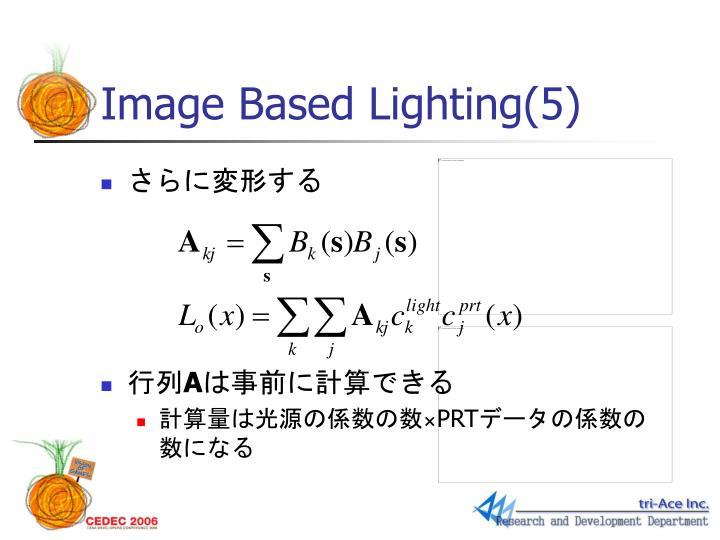 Image Based Lighting(5)