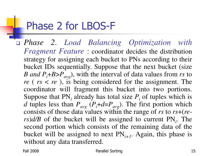 Phase 2 for LBOS-F