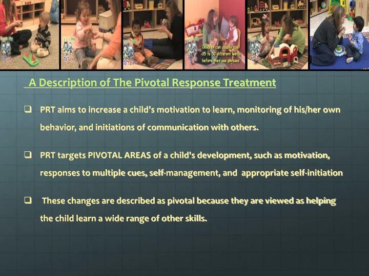 A Description of The Pivotal Response Treatment