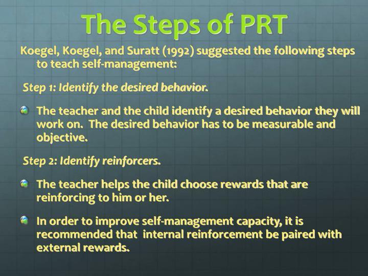 The Steps of PRT