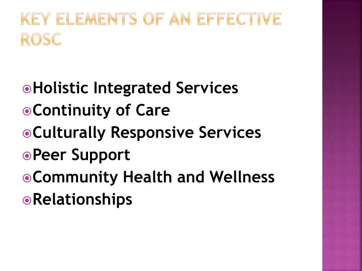 Key Elements of an Effective