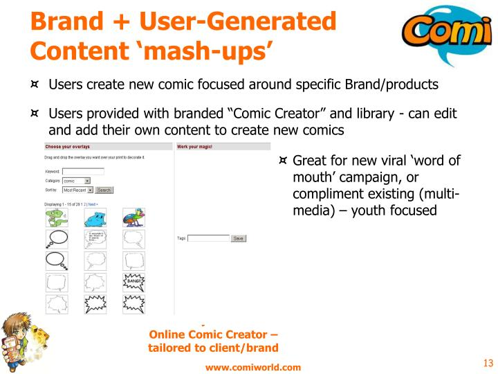 Brand + User-Generated