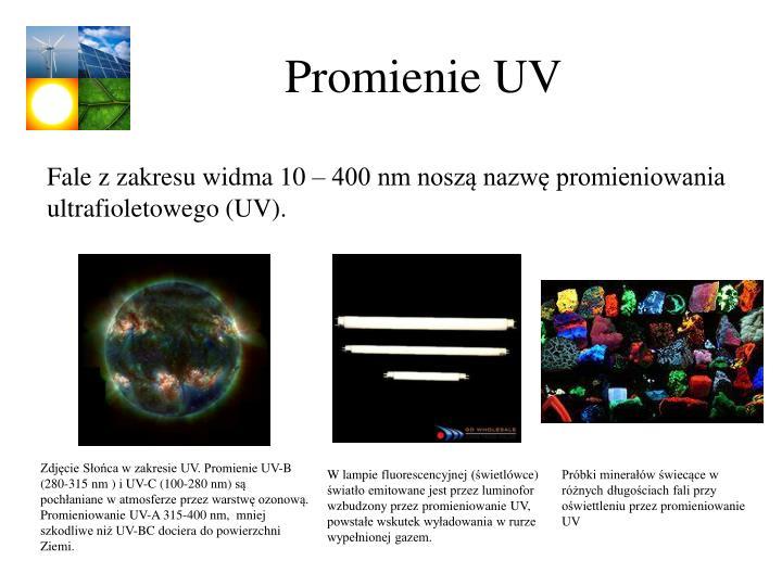 Promienie UV
