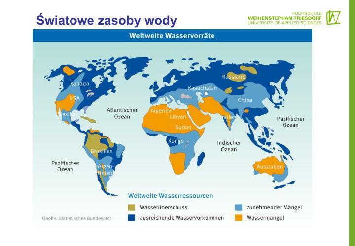 Światowe zasoby wody