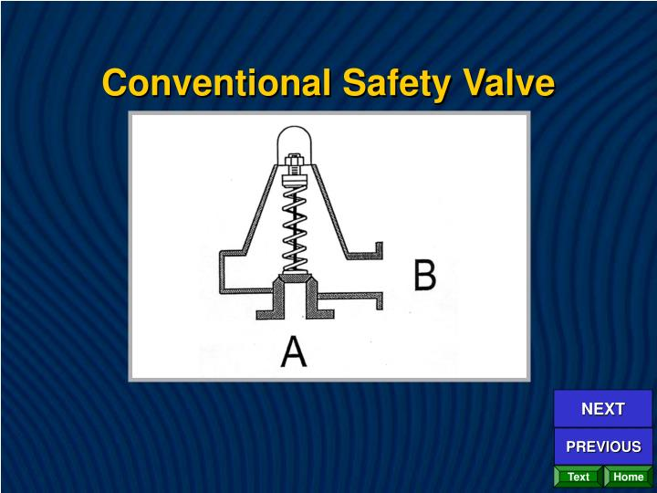 Conventional Safety Valve