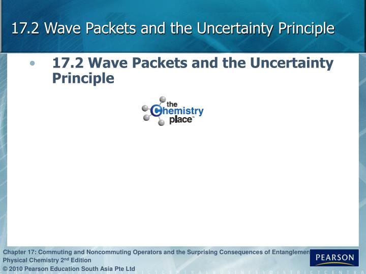 17.2 Wave Packets and the Uncertainty Principle