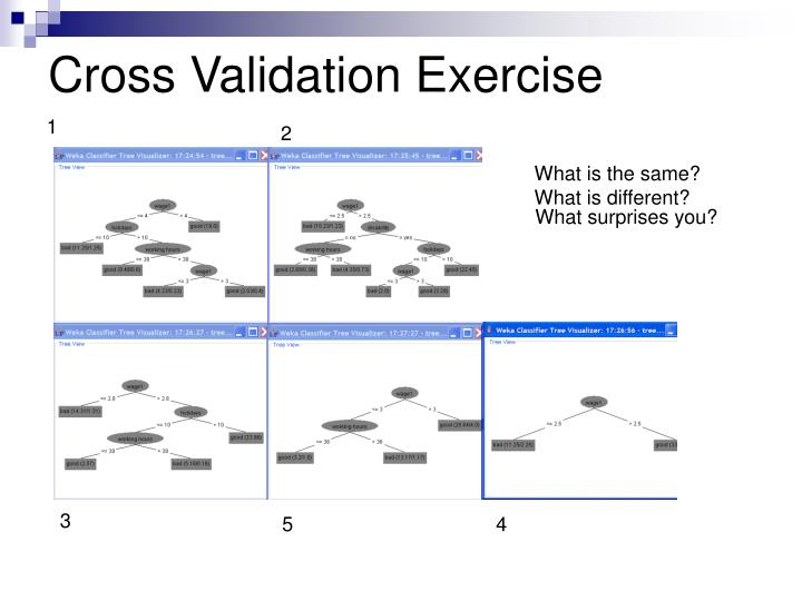 Cross Validation Exercise