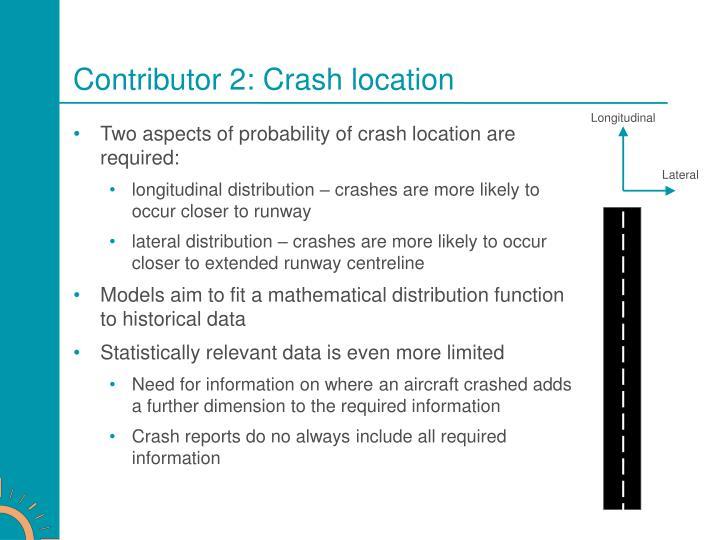 Contributor 2: Crash location
