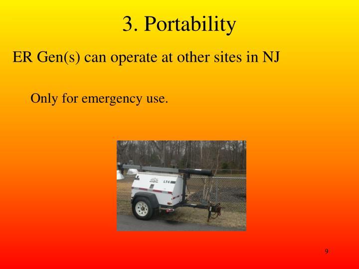 3. Portability