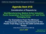 agenda item 18