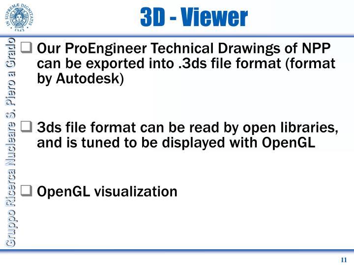 3D - Viewer