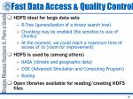 fast data access quality control1