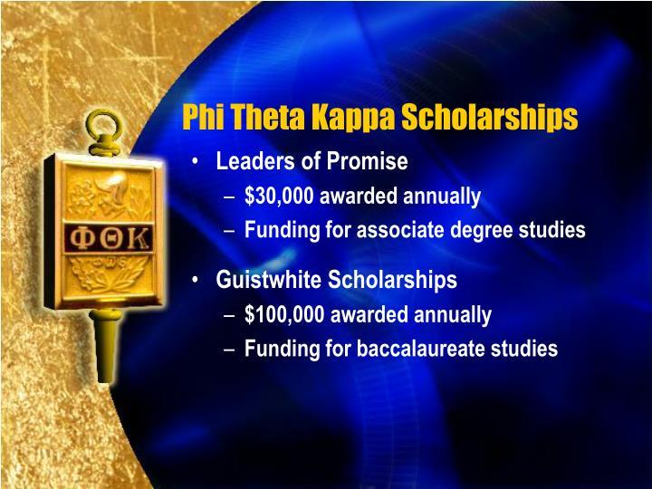 Phi Theta Kappa Scholarships
