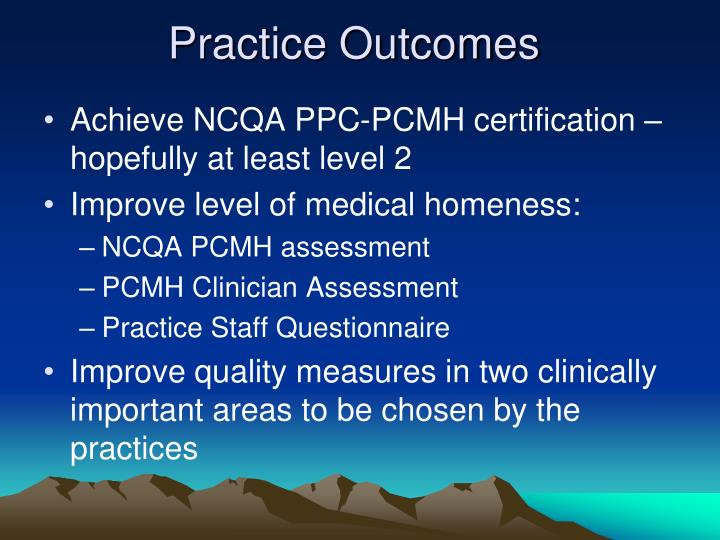 Practice Outcomes