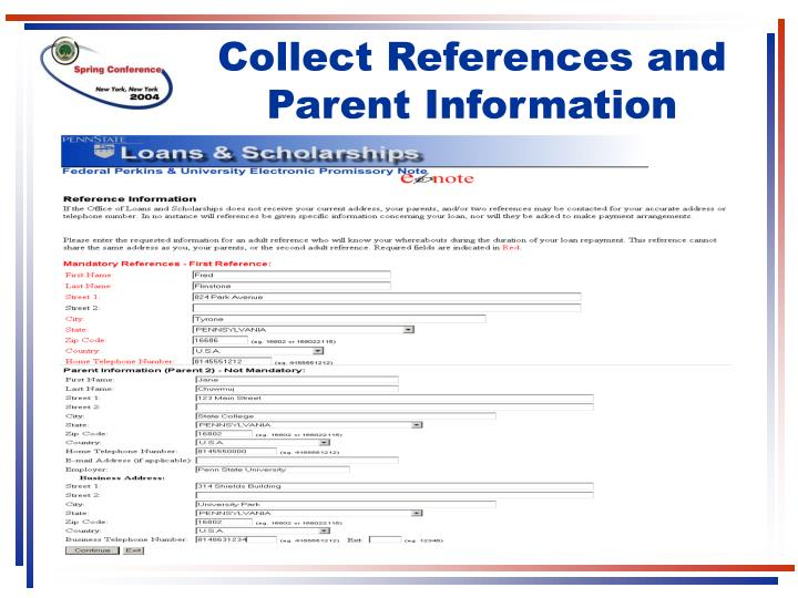 Collect References and