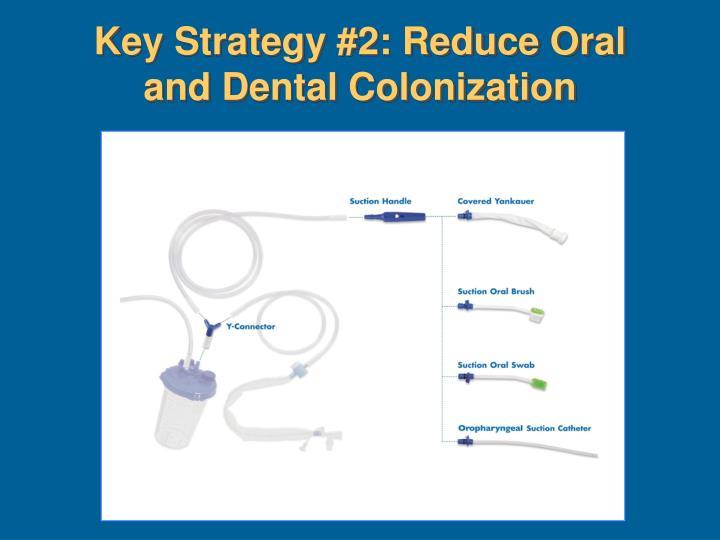 Key Strategy #2: Reduce Oral and Dental Colonization