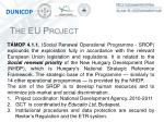 the eu project
