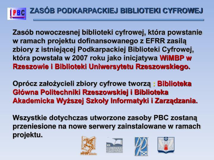 ZASÓB PODKARPACKIEJ BIBLIOTEKI CYFROWEJ
