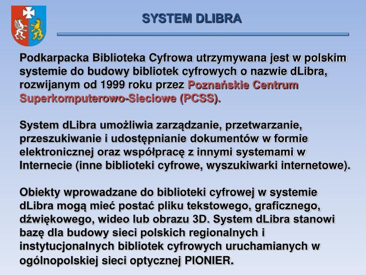 SYSTEM DLIBRA