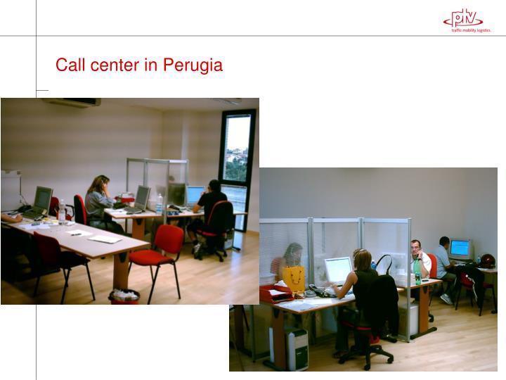 Call center in Perugia