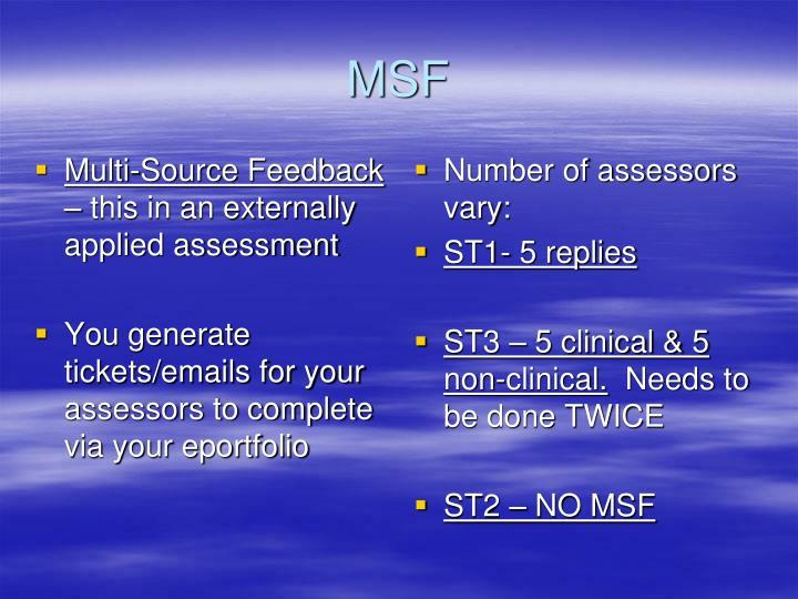 Multi-Source Feedback