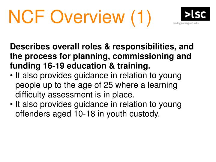NCF Overview (1)