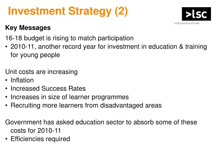 Investment Strategy (2)