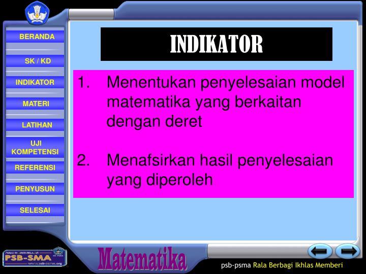 INDIKATOR
