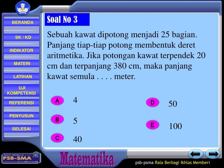 Soal No 3