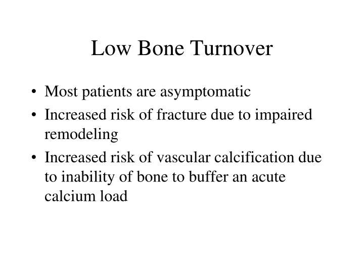 Low Bone Turnover