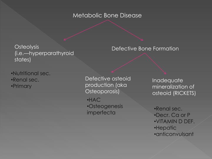 Metabolic Bone Disease